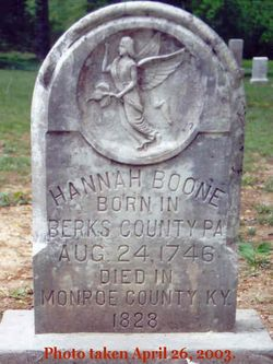 Hannah <i>Boone</i> Pennington