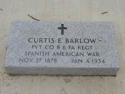 Pvt Curtis Edward Barlow