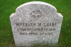 Wheadon M. Grant