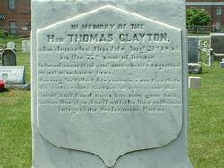 Thomas Clayton