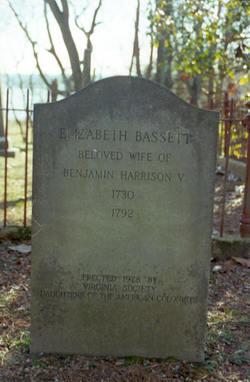 Elizabeth <i>Bassett</i> Harrison