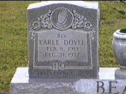 Rev Earle Doyle Beale