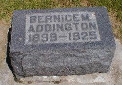 Bernice M. Addington