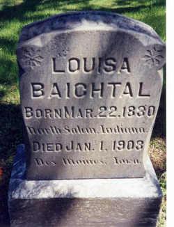 Louisa <i>DAVIDSON</i> BAICHTAL