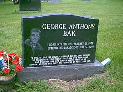 George Anthony Bak