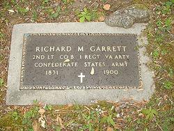 Lieut Richard Minor Garrett