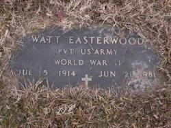 Watt Thomas Easterwood