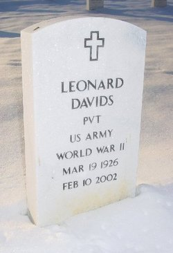 Dr Leonard Bob Davids