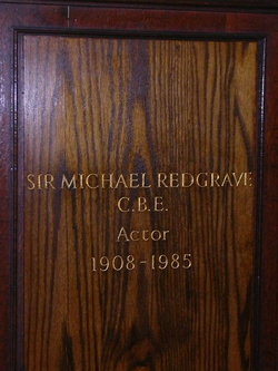 Sir Michael Redgrave