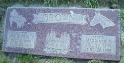 Mae Carnabelle <i>Richards</i> Brown