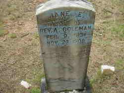 Jane Elizabeth <i>Kilpatrick</i> Coleman