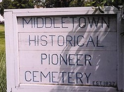 Middletown Historical Pioneer Cemetery
