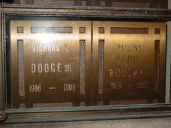 Richard Leonard Dodge, Sr