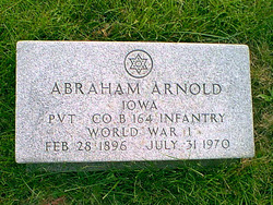 Pvt Abraham Arnold