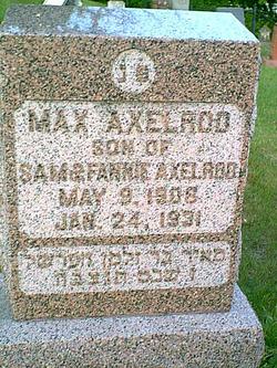 Max Axelrod