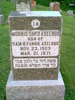 Morris David Axelrod