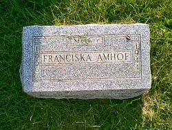 Franciska Amhof