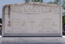 Weston Claude Clause