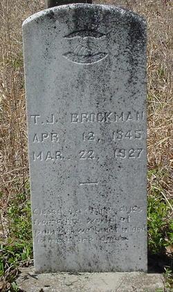 Thomas Jefferson Brockman