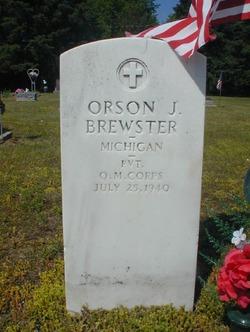 Orson J Brewster