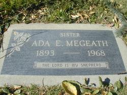 Ada E Megeath