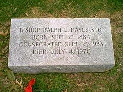 Rev Ralph L. Hayes