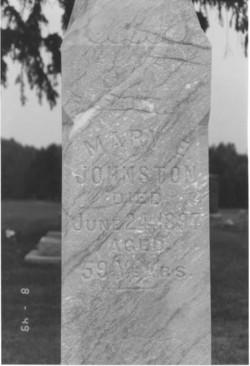 Mary Ette <i>Getman</i> Johnston