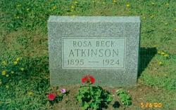 Rosa Mae <i>Beck</i> Atkinson