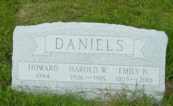 Harold W Daniels