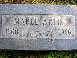 Mabel <i>McKinley</i> Artis