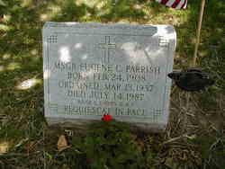 Rev Eugene C Parrish