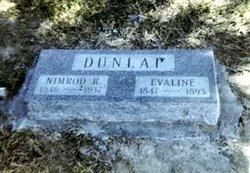 Lucy Evaline <i>Nall</i> Dunlap