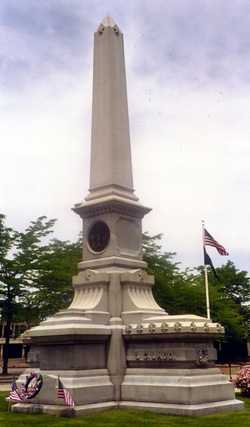 Ladd and Whitney Monument