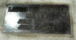 Laura <i>McDermott</i> Dewey