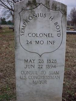 Col Sempronius Hamilton Boyd