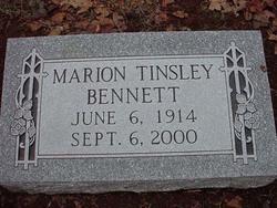 Marion Tinsley Bennett
