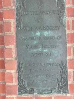 William Boosey