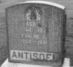Evaline Lorether <i>Wells</i> Antisdel