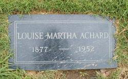 Louise Martha Achard
