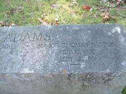 Maj Thomas Patton Adams