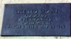 Pvt Lyle Leo Brown