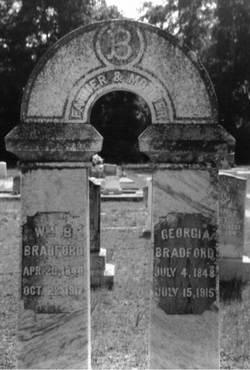 Georgia Ann <i>Dampier</i> Bradford