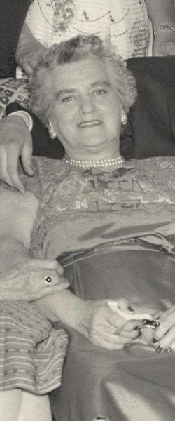 Agnes Cecelia <i>Sears</i> Dent