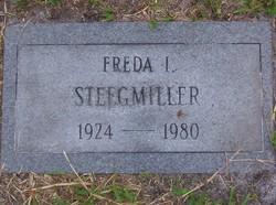 Freda I Steegmiller