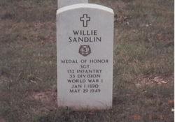 Sgt Willie Sandlin