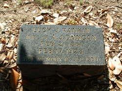 Lucy Jane <i>Rankin</i> Duncan