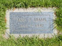 Anna D. Adams