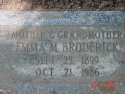Emma Margaret <i>Kennedy</i> Broderick