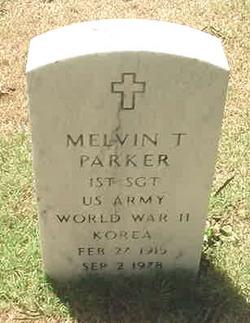 Sgt Melvin Turner Parker