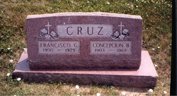 Concepcion <i>Buscus</i> Cruz